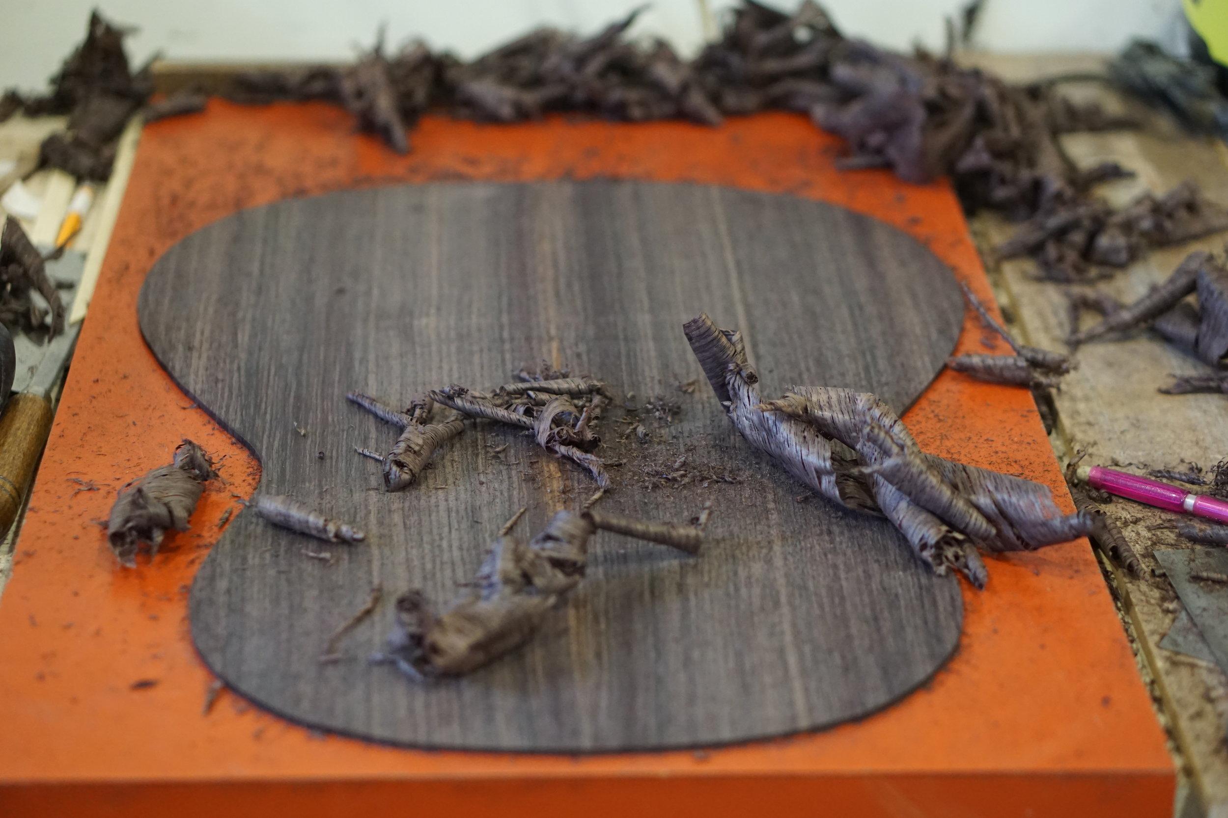 dark indian rosewood back
