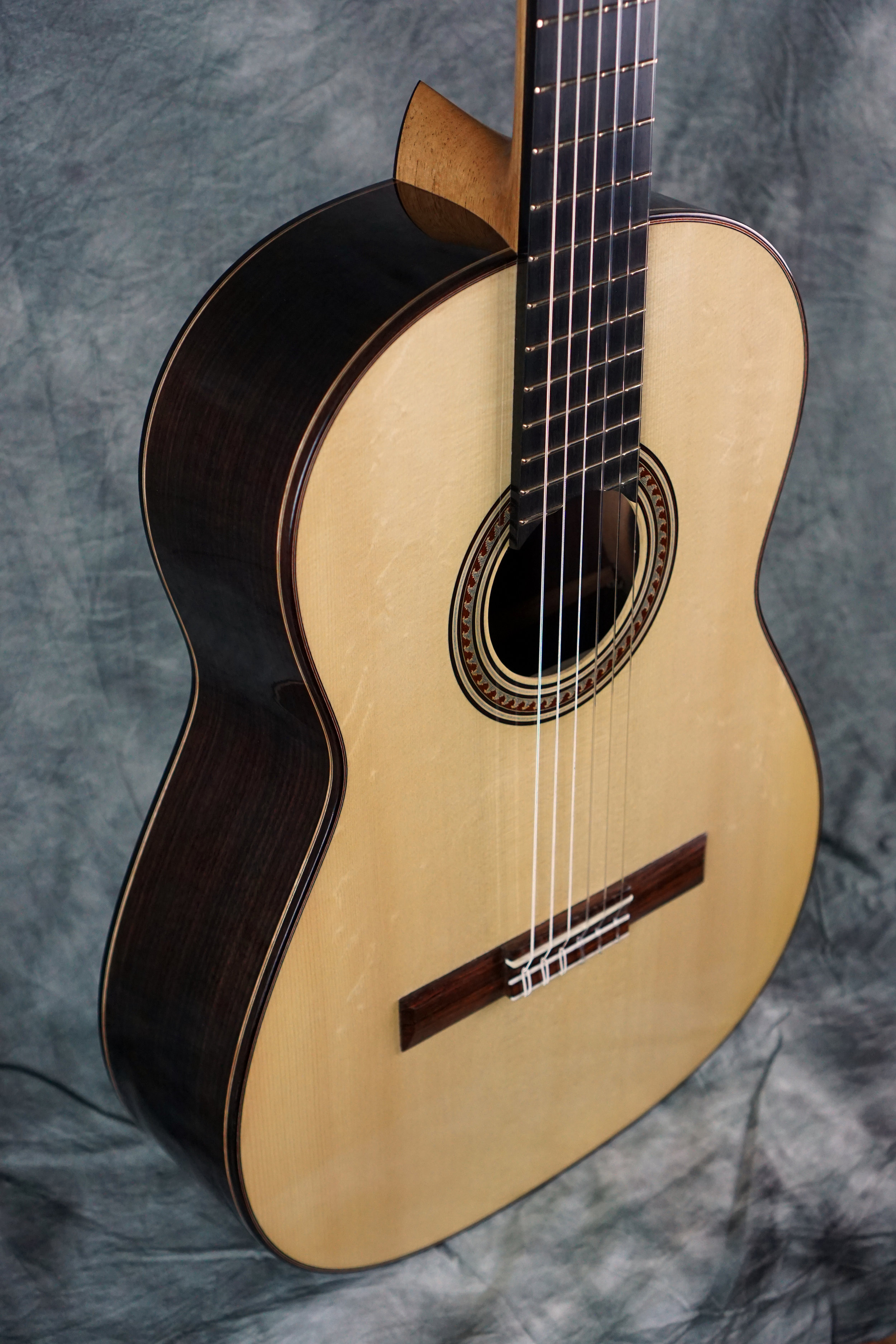 Concert classical with bear claw euro spruce