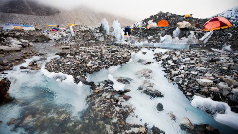 Climate Change Is Melting Everest