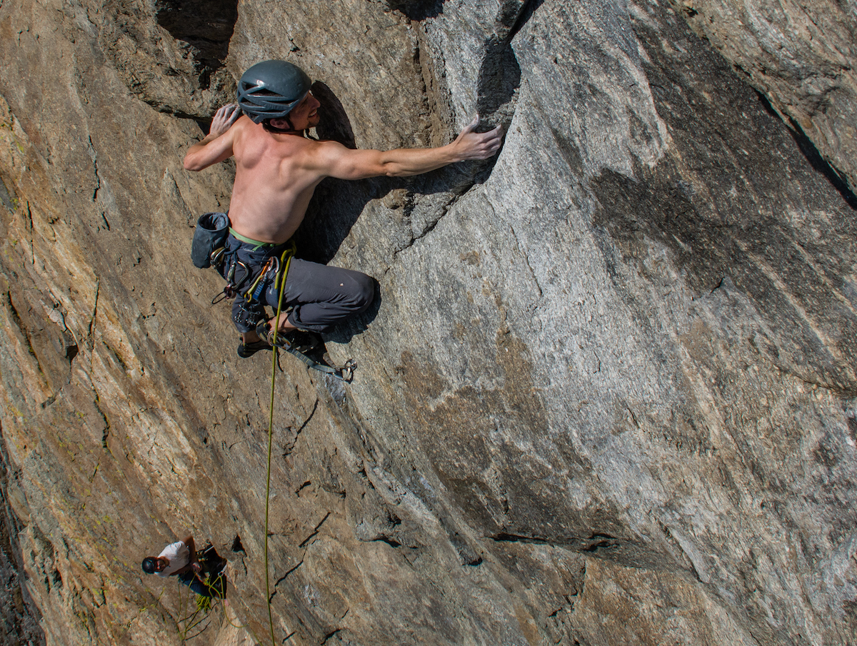 """Montana climbers tap potential of Bitterroots with """"Super Ultra Mega"""" (5.13a, 8 pitches)"""