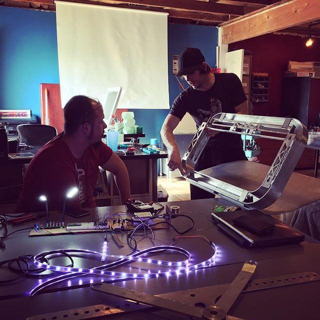 engineers engineering launchpad #prototype #standingdesk #iot #maker #hacker #startup #entrepreneur #workspace #photon #kickstarter #ifttt #arduino