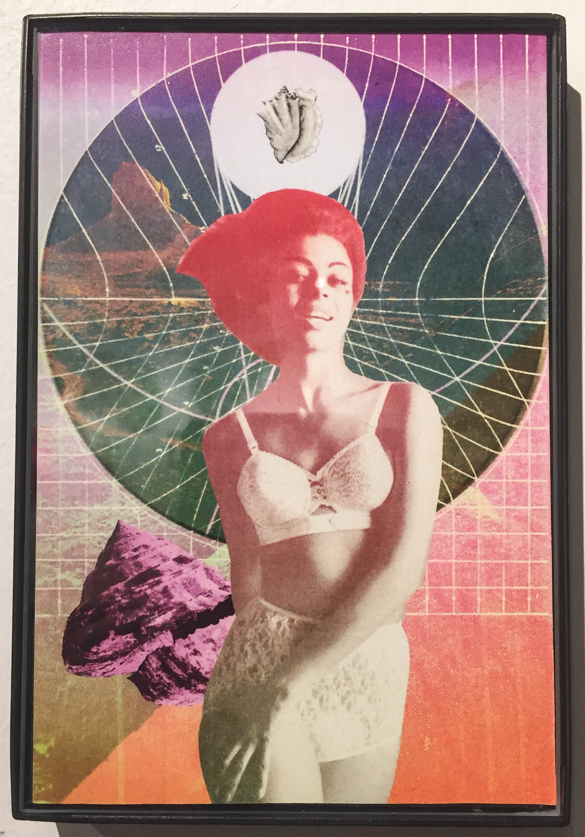 """Self-Love"" Digital collage 4""x 6"" Lexx Valdez"