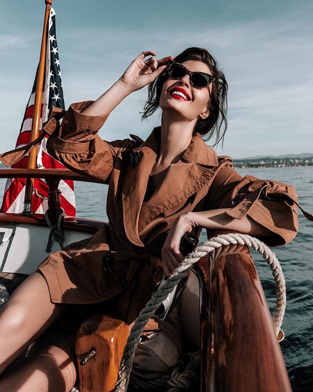 When the whole world's watching.  Julia Leacova for @elegantmagazine  Photo | @rex.shooter Stylist | @thepolaroidstylist  Make-up | @mua.susie Model | @julialescova  PR | @chiefwolfblood .. #lookslikefilm#l0tsabraids#folkportraits#sailing #sailinglife #earth_portraits#bravogreatphoto#bleachmyfilm#musephoto#tangledinfilm#pacific #agameoftones#quietthechaos#featuremeofh#wanderingfilm#makeportraits#portraitpage#wanderinginfilm#portraits_mf#featuremelea#humansmagazine#featuremeseas#pursuitofportraits#theportraitpr0ject#kdpeoplegallery#ftwwne#globe_people
