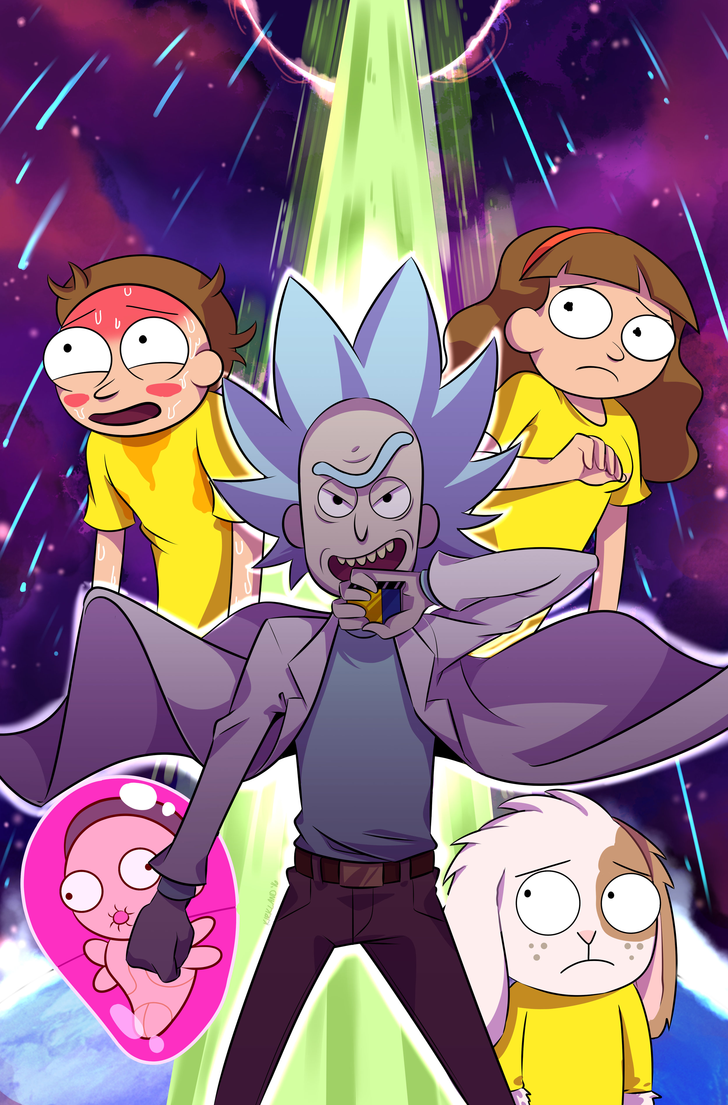 RICK AND MORTY: POCKET LIKE YOU STOLE IT (Variant Cover)
