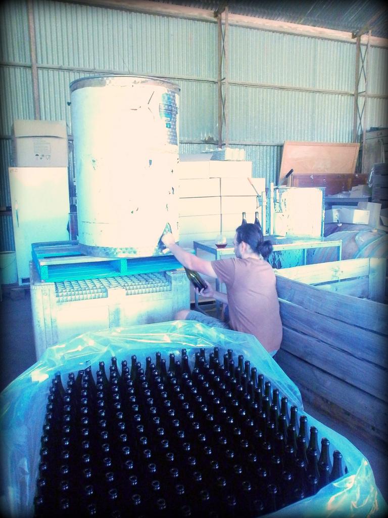 Bottling Grenache 2013