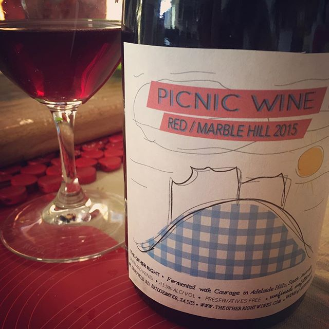 Picnic Wine for the Marble Hill Picnic 2015. Photo by  @rifa_radelaide