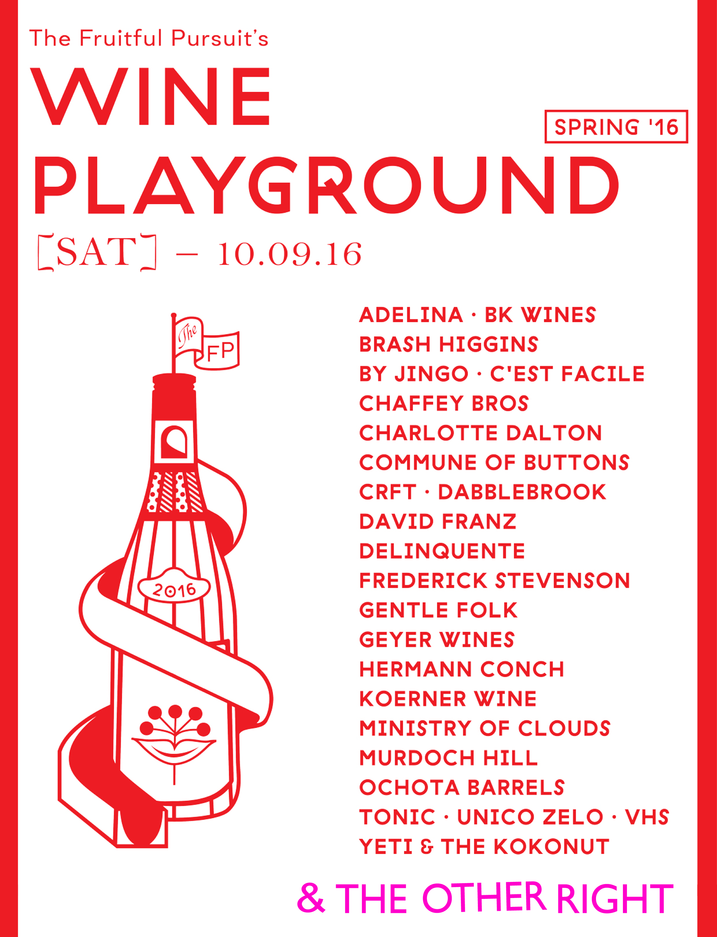 Win Playground - The Fruitful Pursuit x The Other Right
