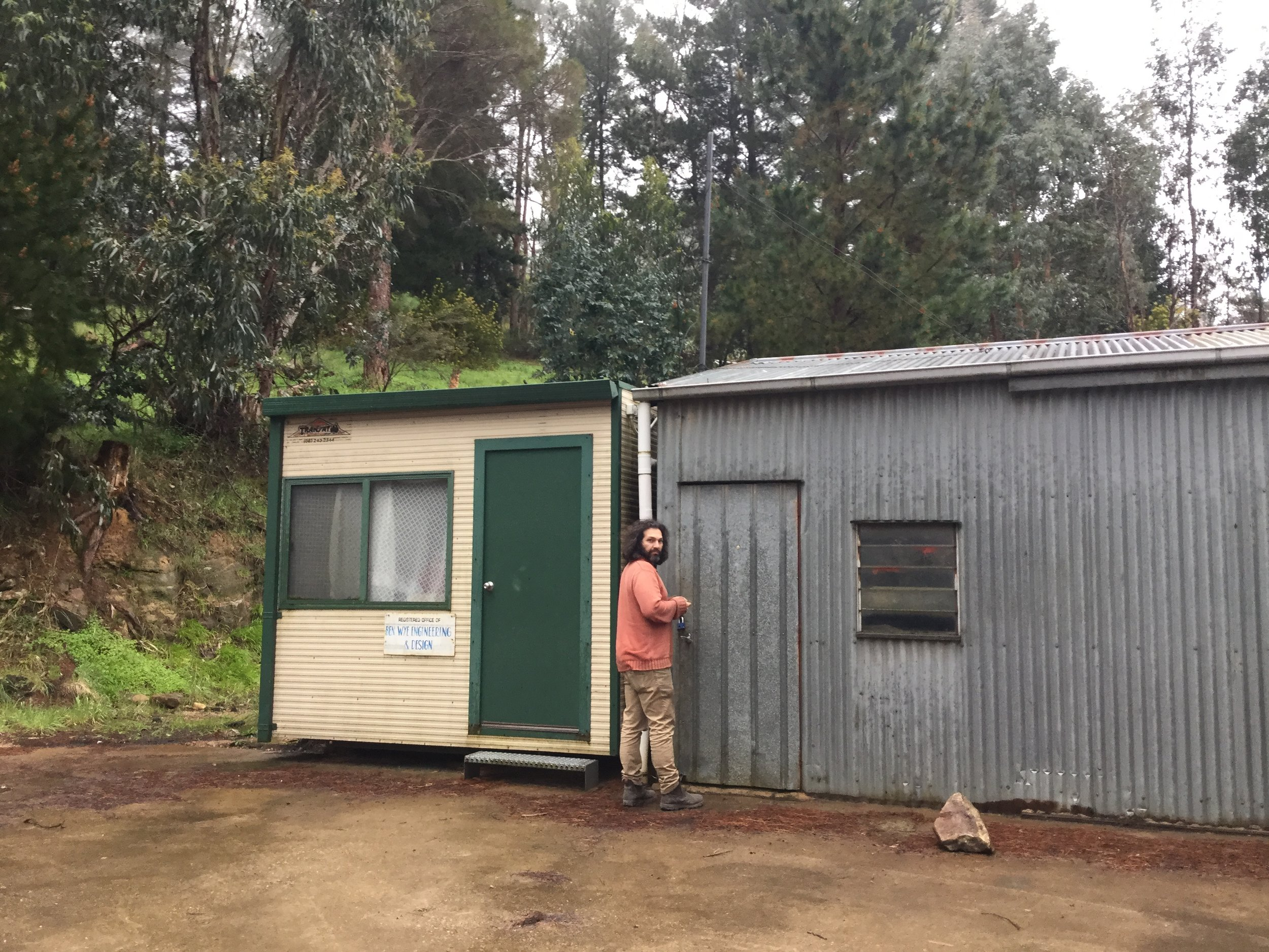 The Other Right - New Winery Shed