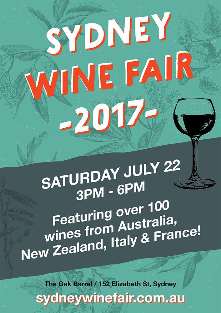 Oak Barrel Sydney Wine Fair 2017