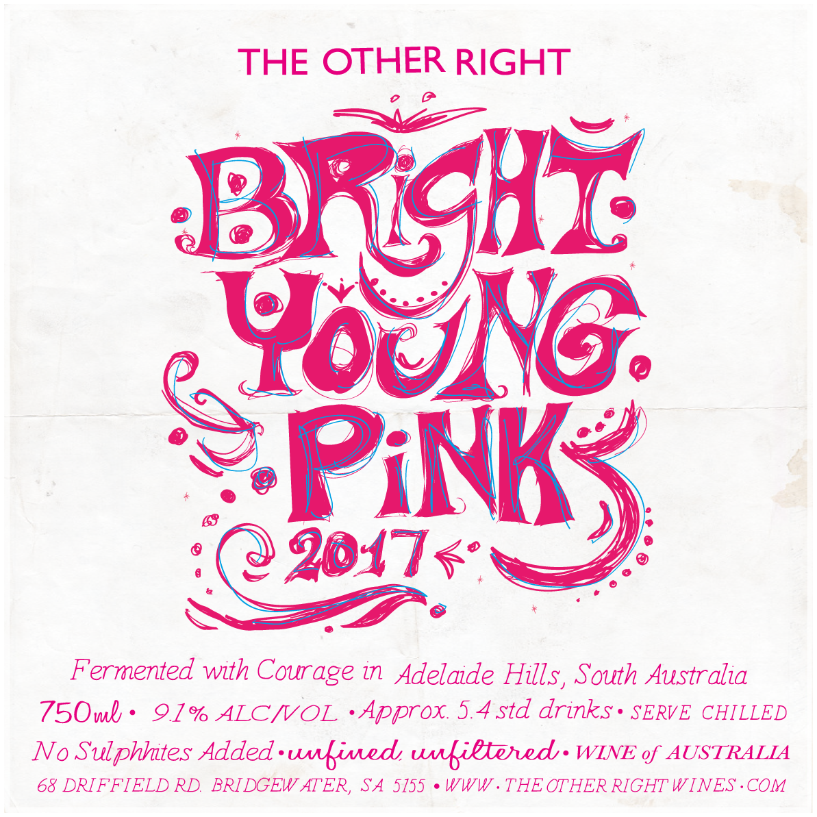 The Other RIght Wines Bright Young Pink