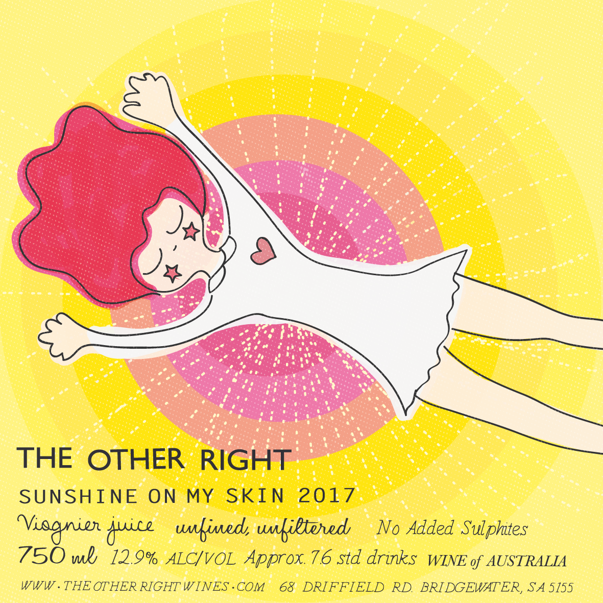 The Other Right Wines - Sunshine on my skin