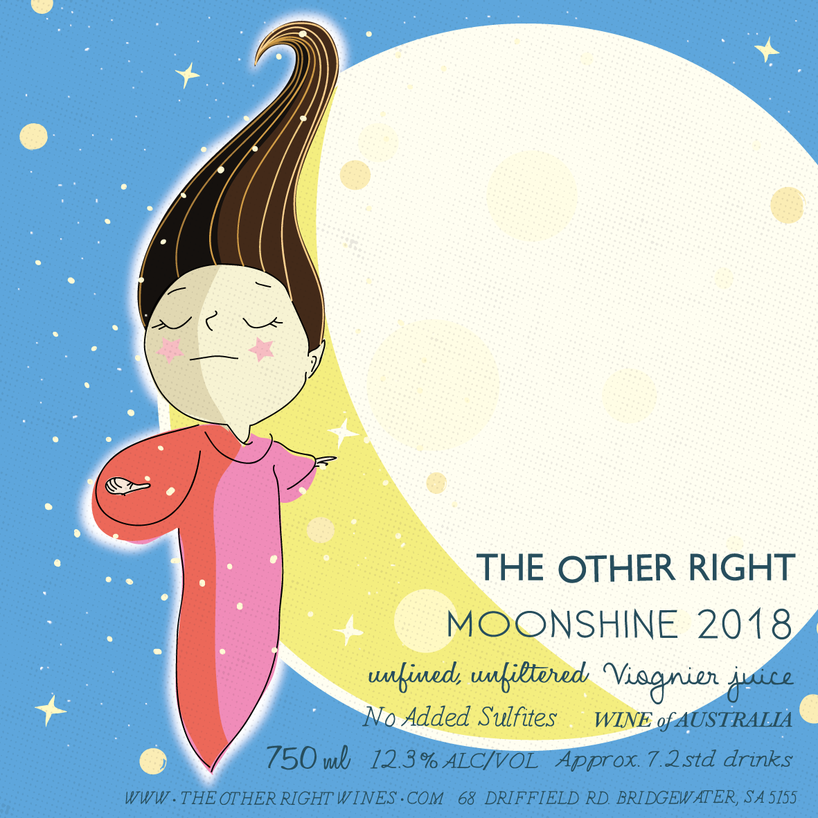 The Other Right Wines -  Moonshine 2018