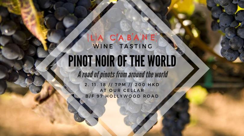 Pinot Noir Tasting of the World HK La Cabane