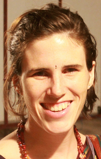 Jeana lived at Shri Kali for several years and is a long-term student in the Kaula System. Currently she is teaching in Pittsburgh, USA.