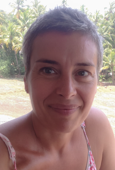 Sabine teaches yoga in France, Paris. She came to Shri Kali to try a different type of yoga and found a new world of Tantra philosophy that she is happily sharing now with her students and friends in Paris.