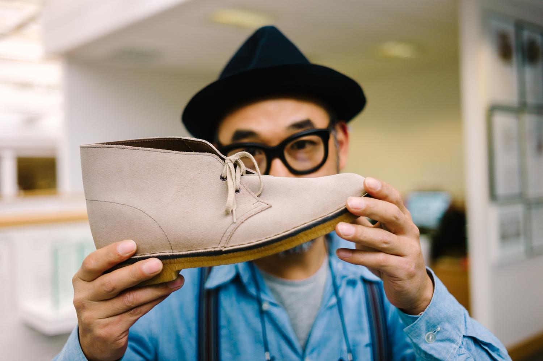 Atsushi Hasegawa Clarks Shoes