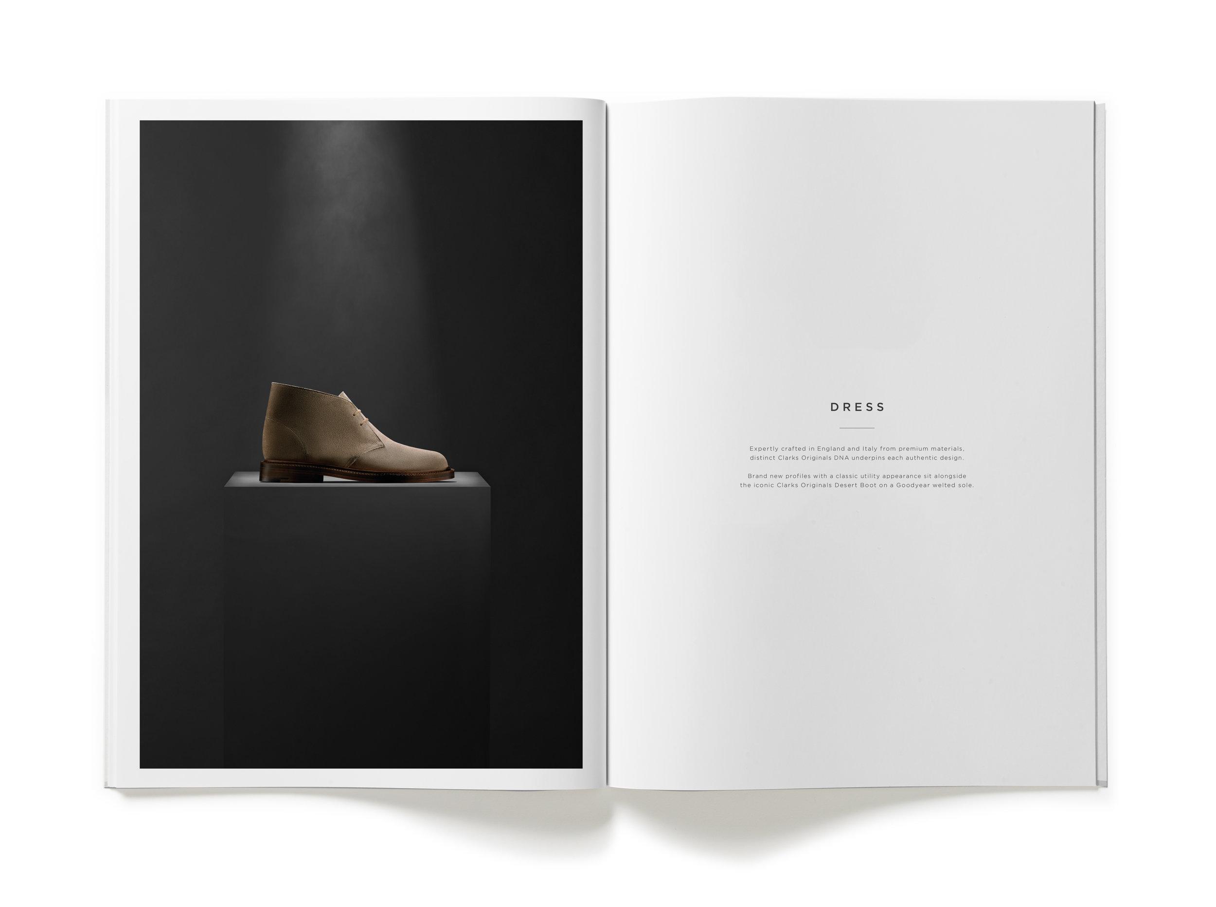 Clarks AW17 Originals Trade Catalogue