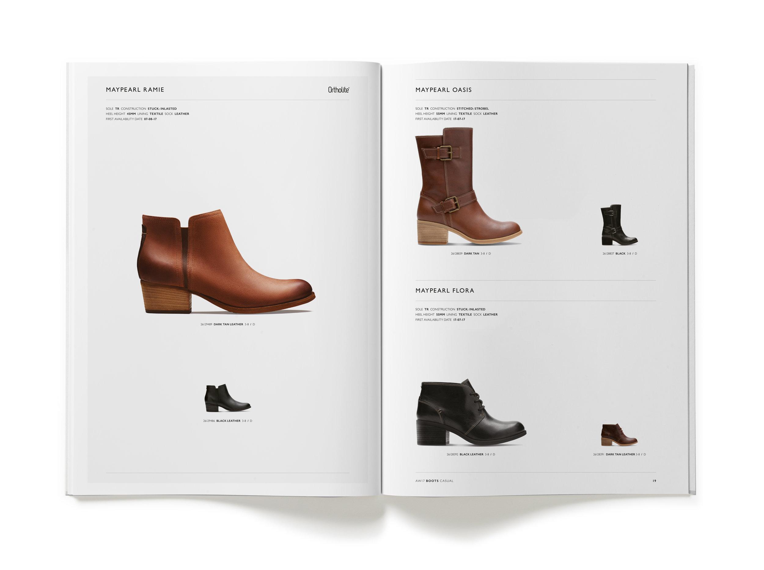 Clarks AW17 Womens Trade Catalogue