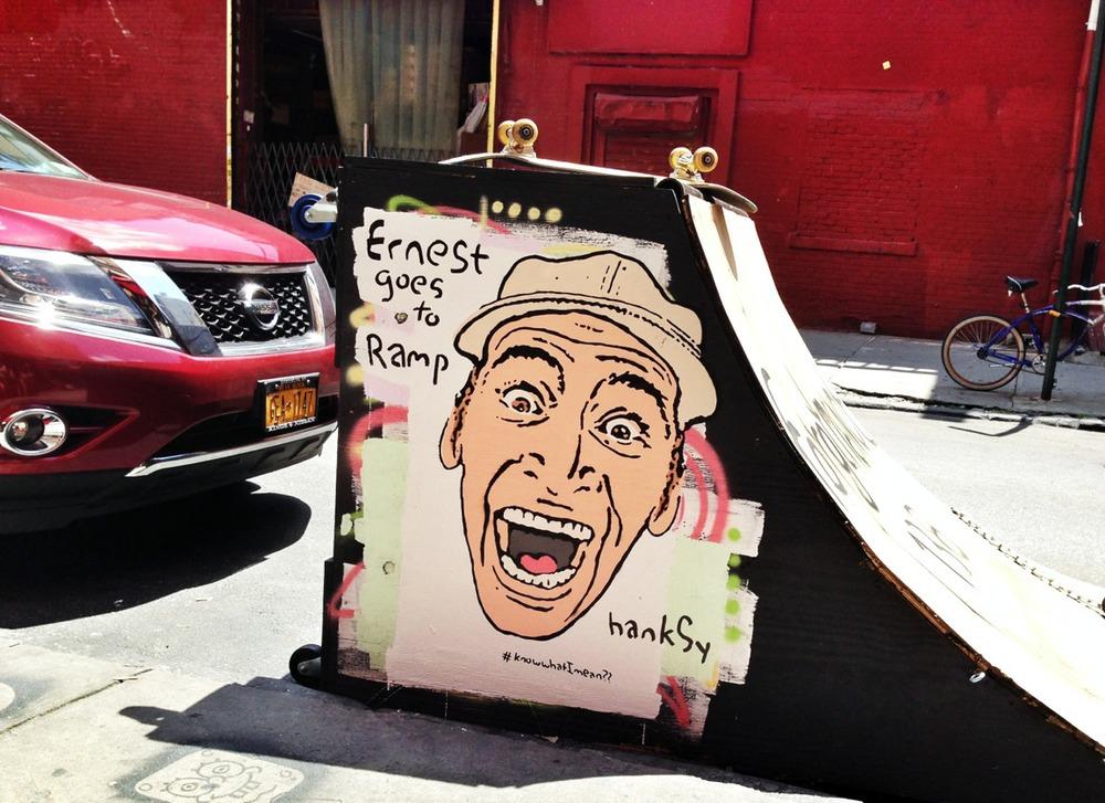 Ernest P. Worrell, Chinatown, NYC