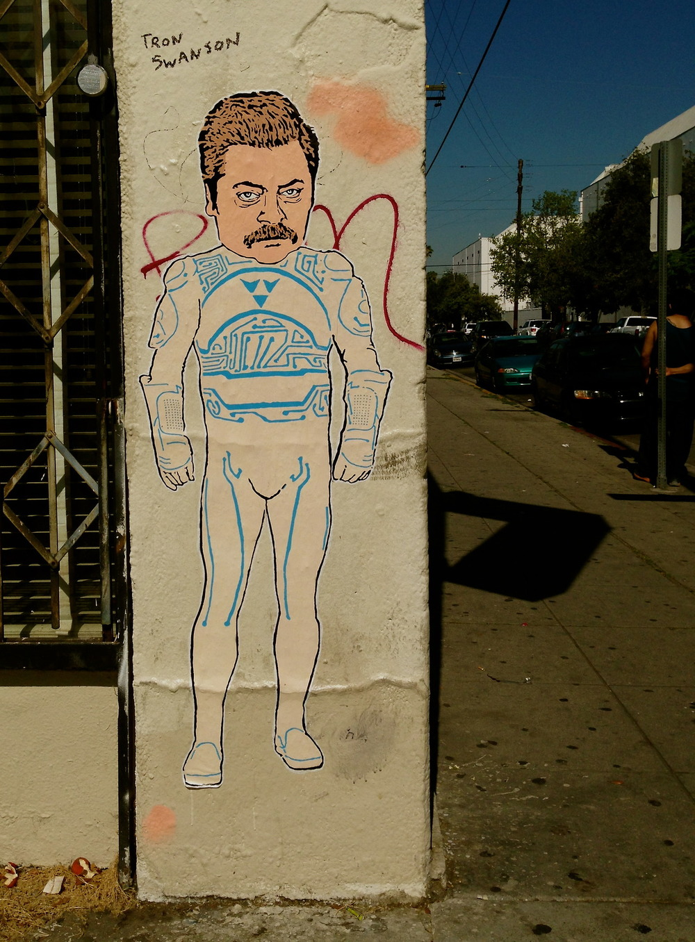 Tron Swanson, Los Angeles, CA