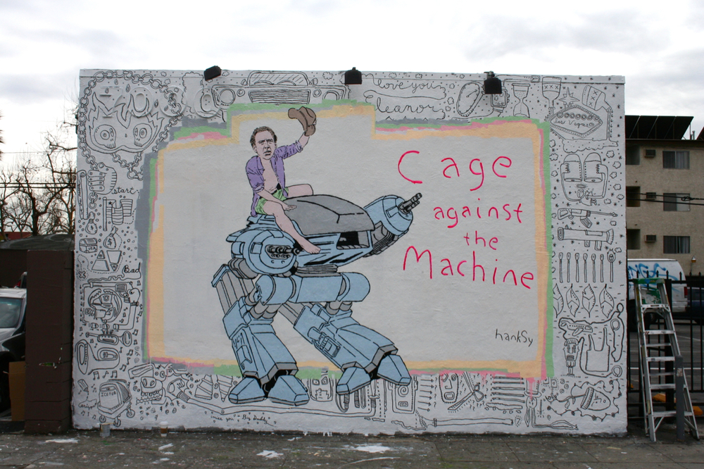 Cage Against The Machine, Melrose/La Brea, LA