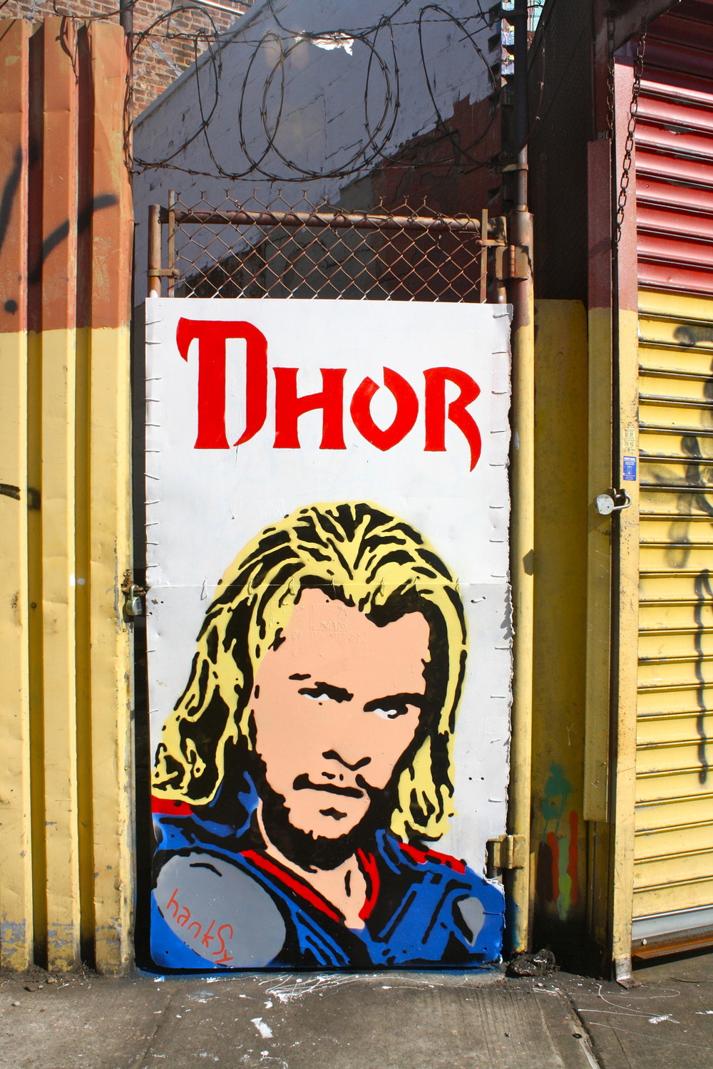 Thor Door, 5Points, Brooklyn