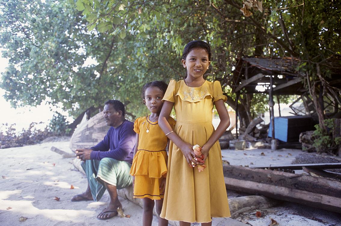 A maldivian family