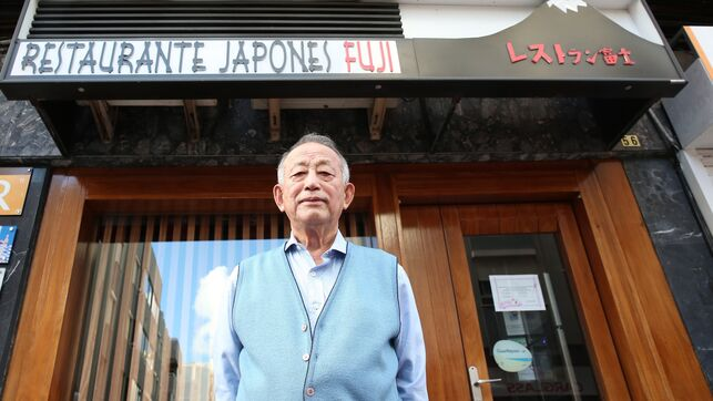 "Toshihiko Sato, owner of the ""Fuji"""