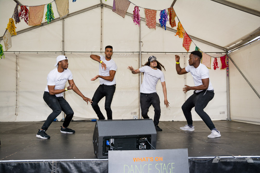 The  Studio 3 Arts  stage ran a specially selected programme all day long!  Sharlene Carter  brought together local performers, dancers, singers amongst spoken word poetry, and a version of the Studio 3 Arts dance battle 3style Friday as well as a dance class with Jade Hackett and so much more!