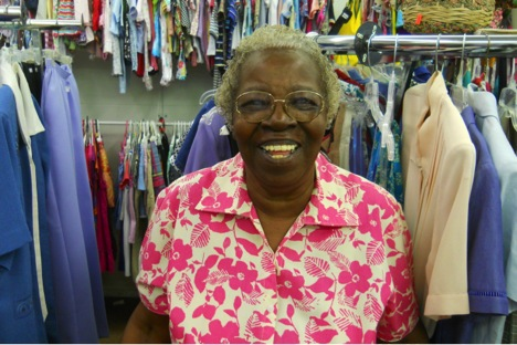 Susan Forrest has found her calling at Closet Treasures Thrift Store.