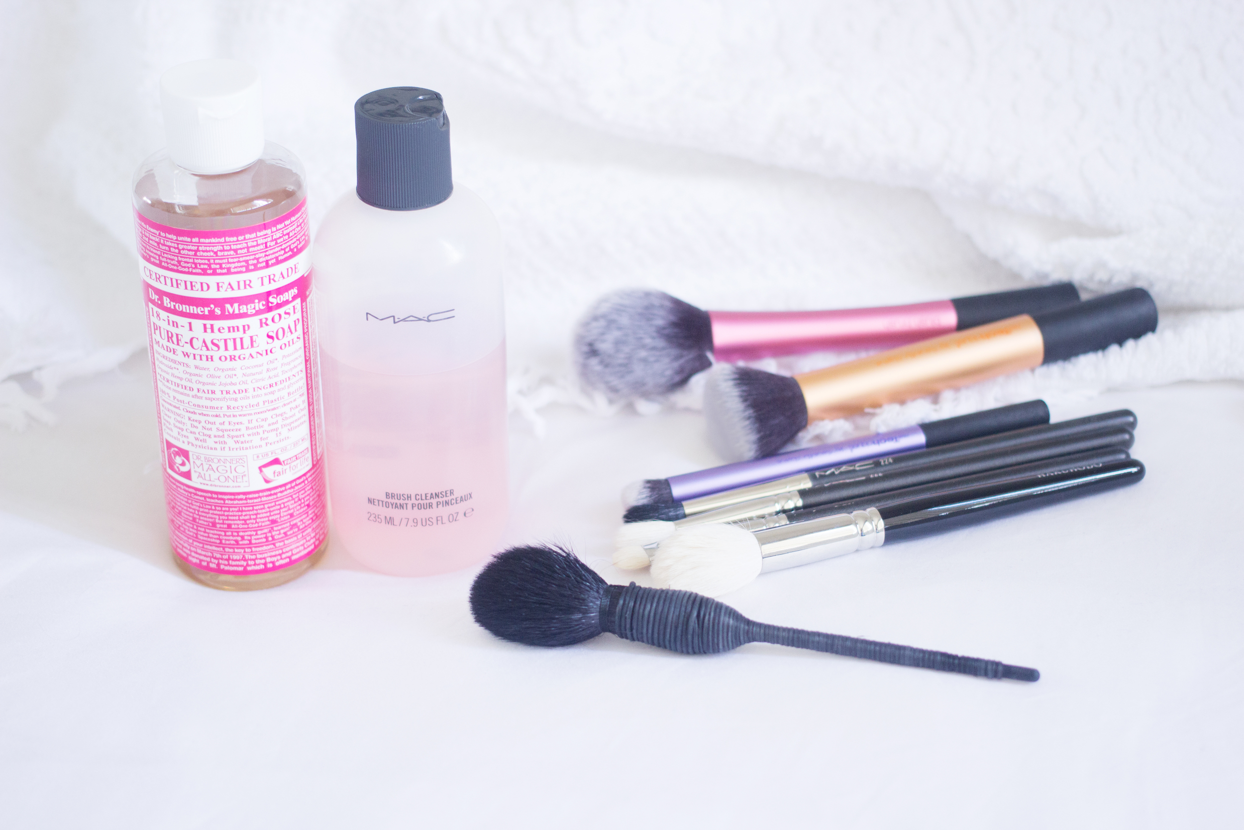 How I Clean My Makeup Brushes — Like