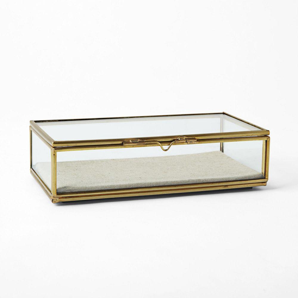 West Elm Terrace Glass Shadow Box