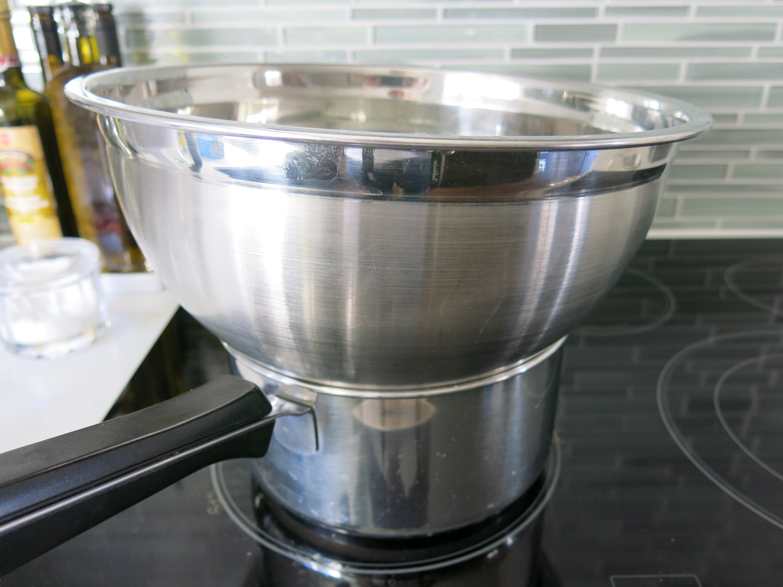 Who need a double boiler when you have a brain that works like this?