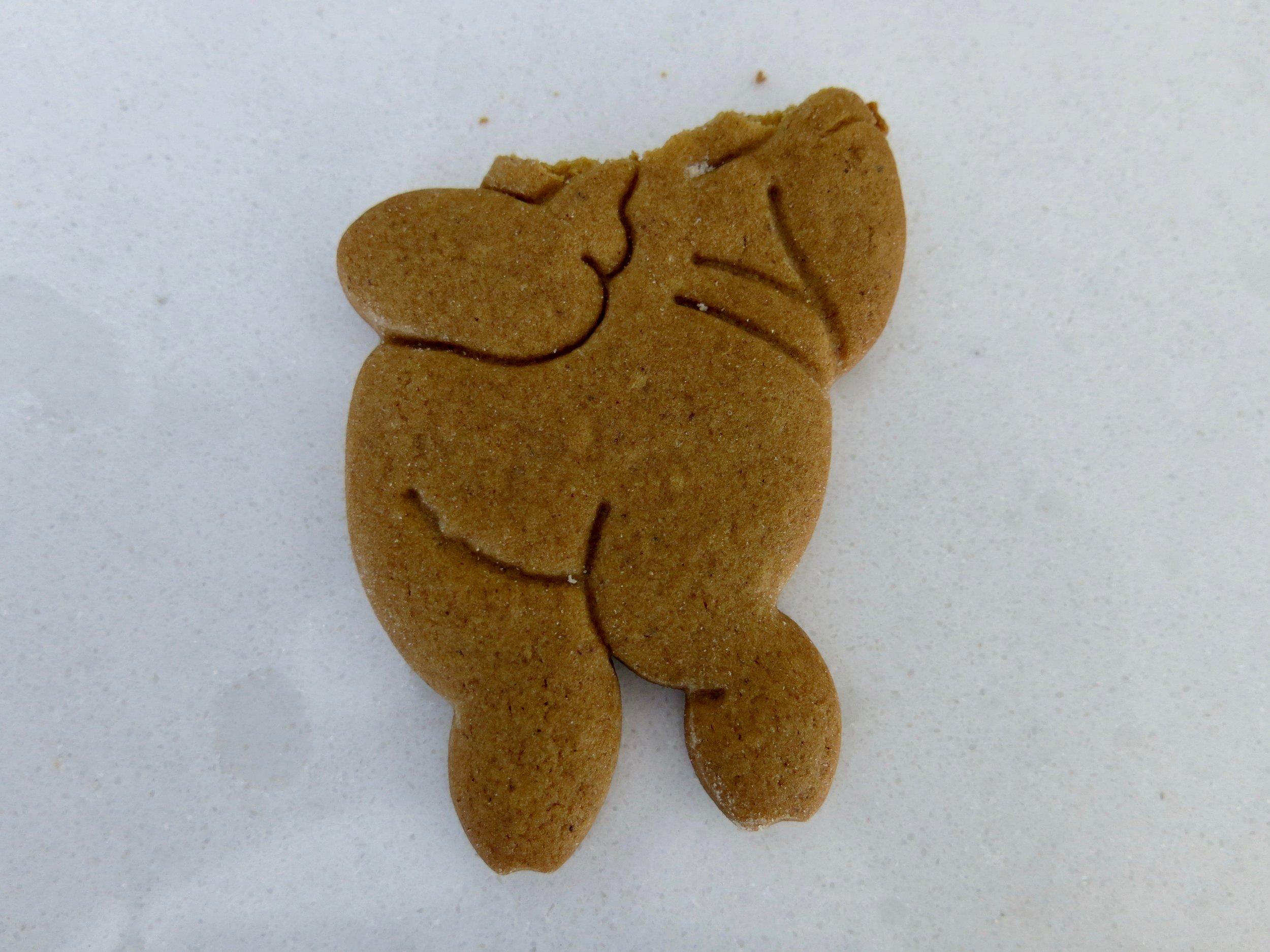I ate too many cookies. Now I feel like a pig. (Sorry.)