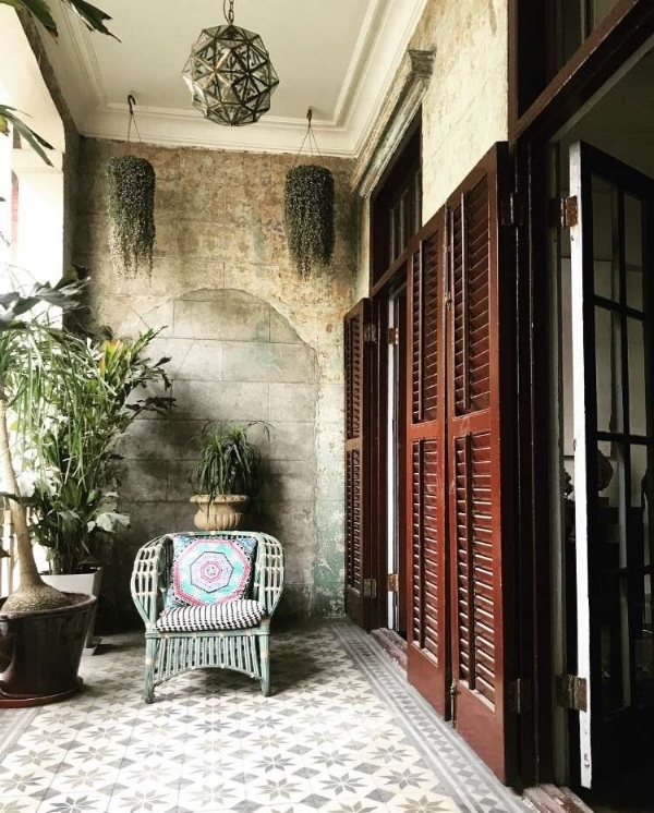 Home of Jeffrey Ying in Shanghai featuring JUMA pillows