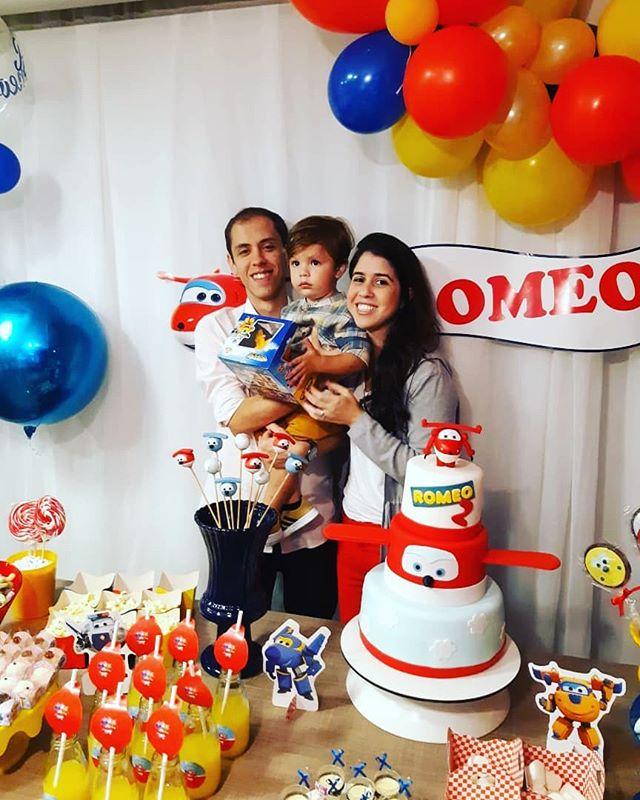 2 anos do nosso Romeo ❤ . Dindos amam tanto 😍 #happybirthday #love