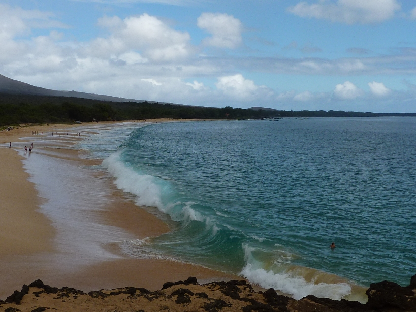 Big Beach in Makena