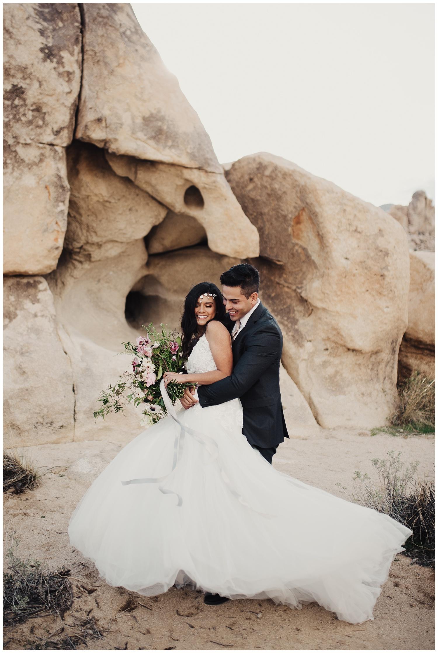 Joshua Tree Bridal Session