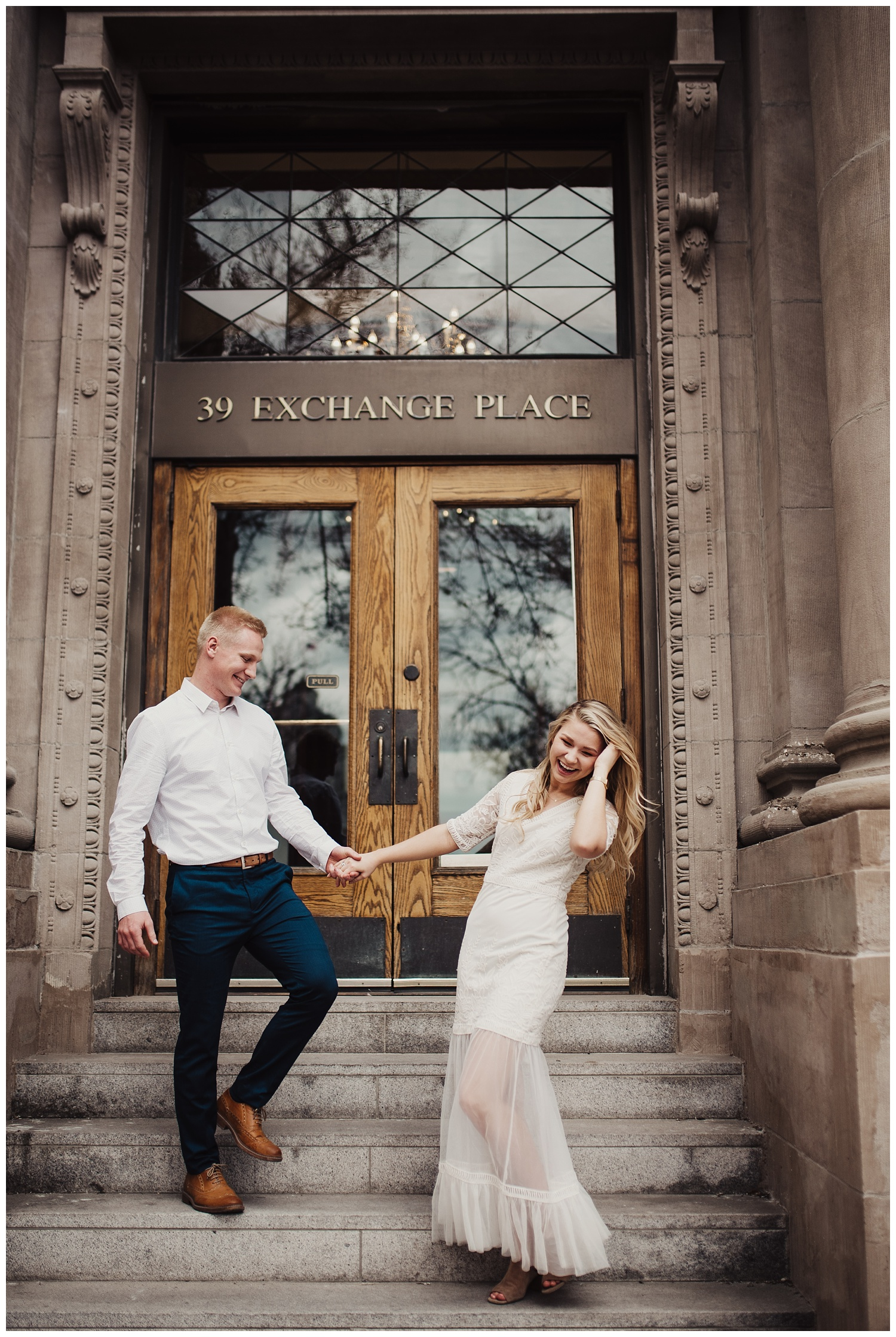 Exchange Place Engagement Session