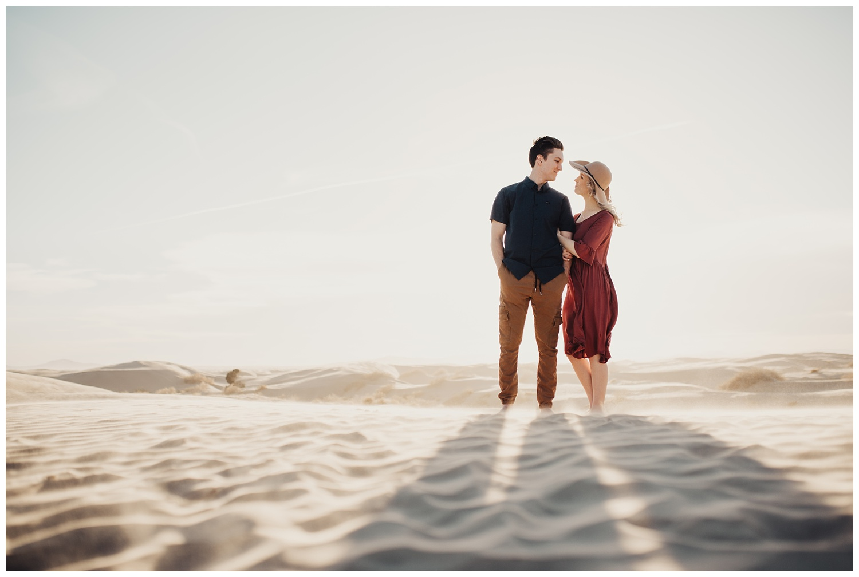 Little Sahara Sand Dunes Engagement Session