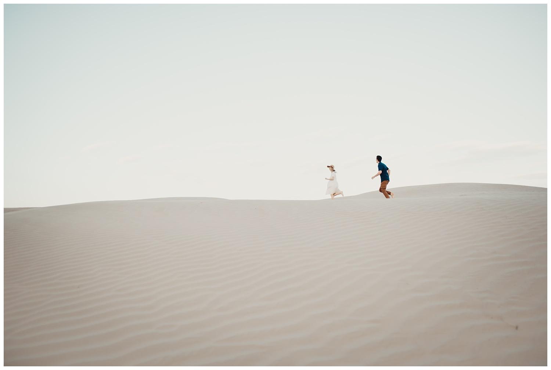 Utah Sand Dune's Engagement Session