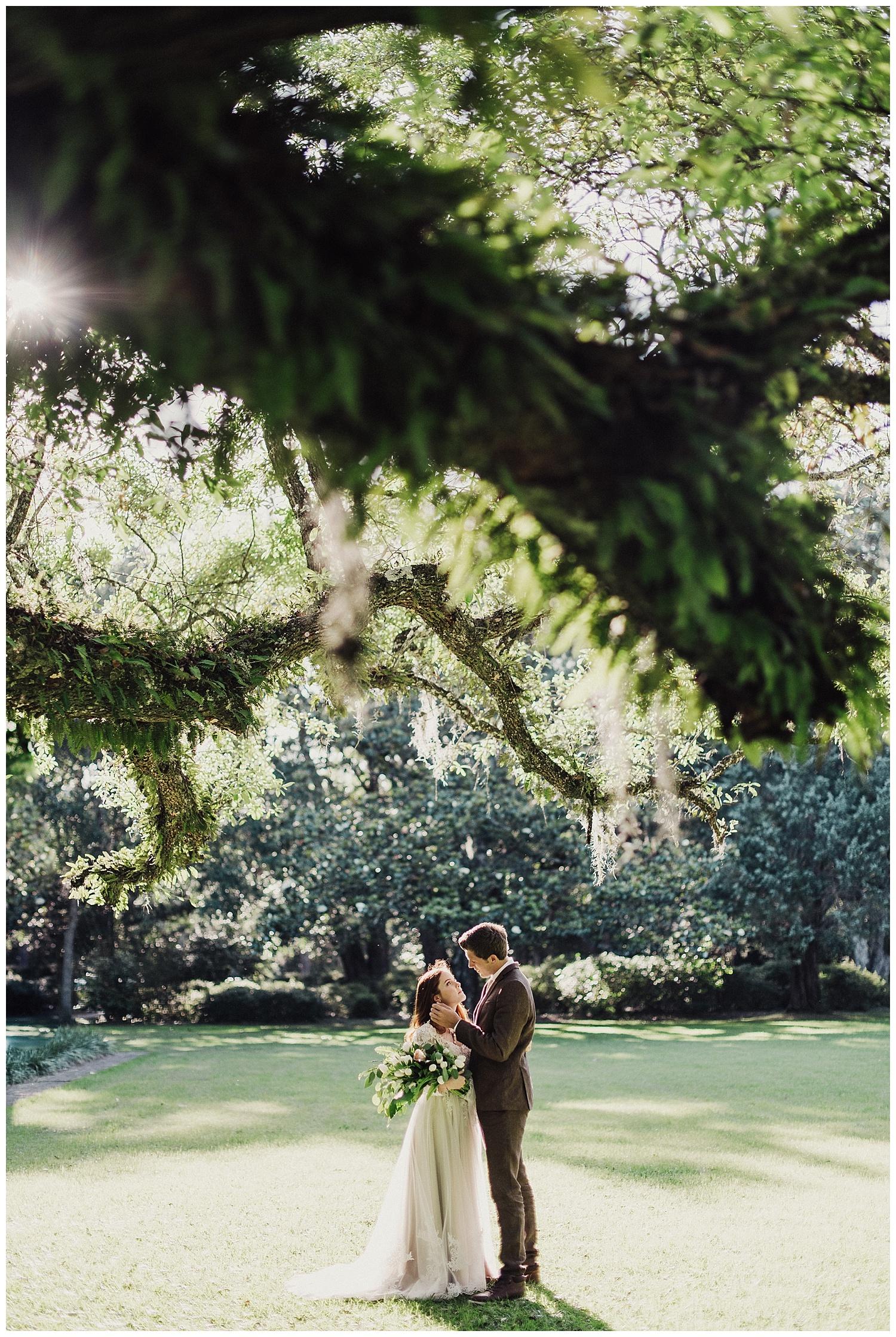 Eden Gardens State Park Bridal First Look