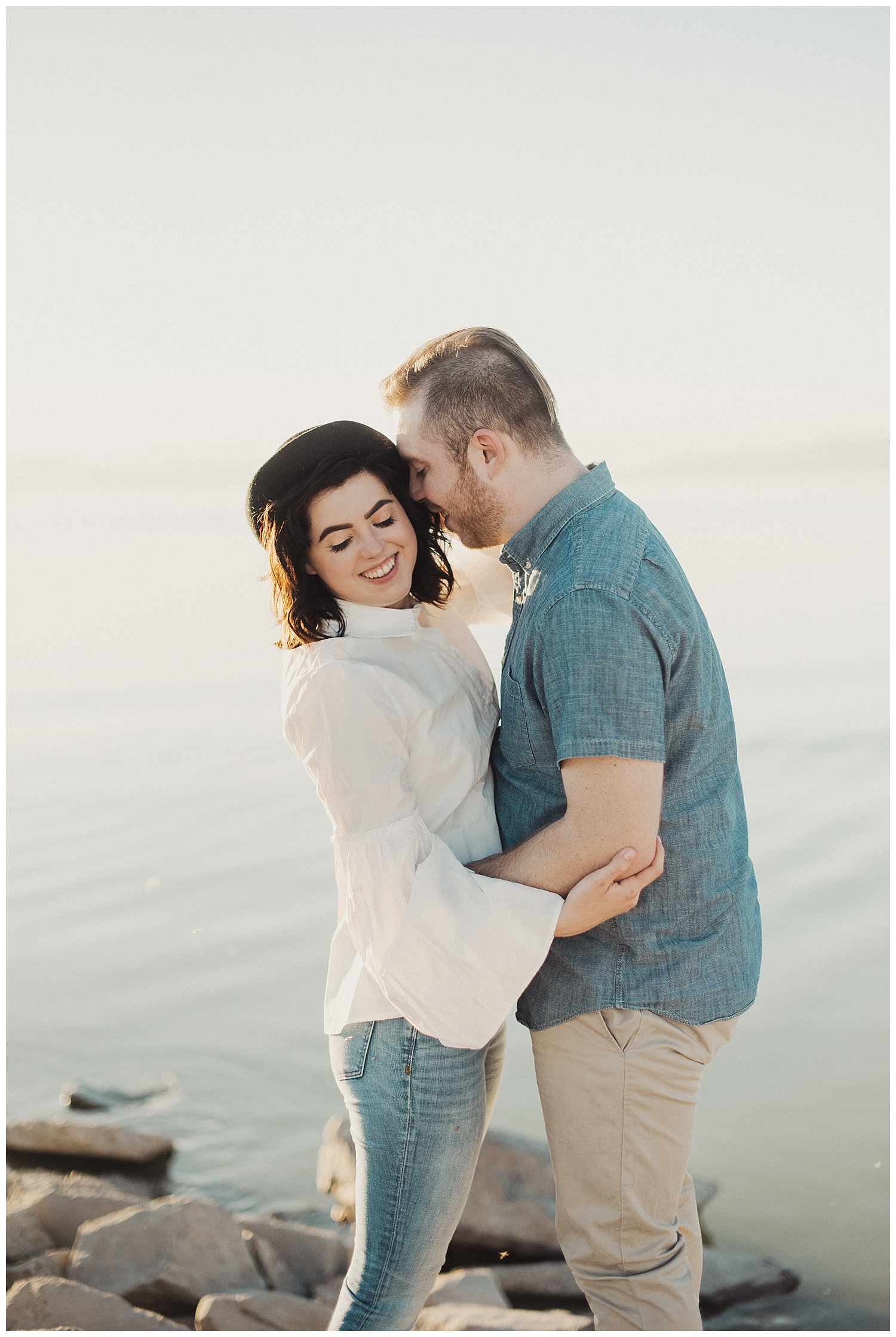 Engagement Session at Provo Boat Harbor