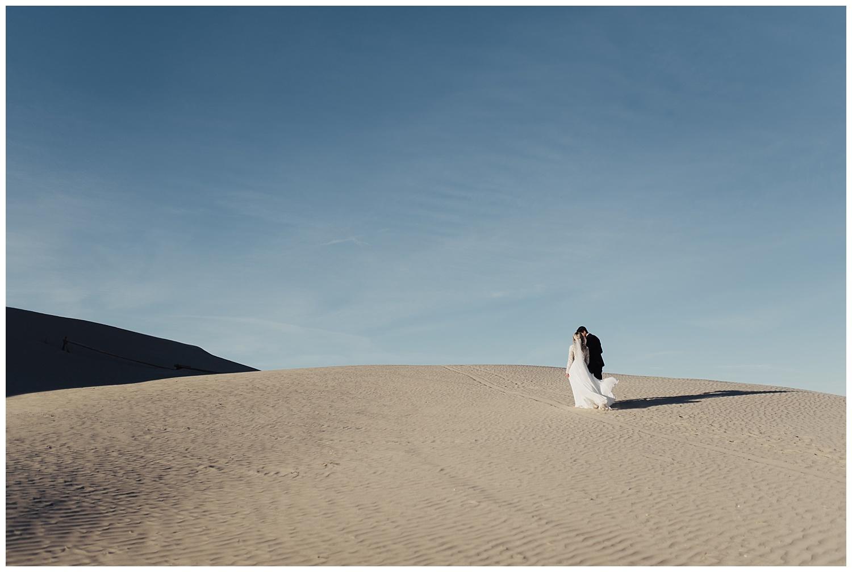 Little Sahara Sand Dunes Bridal Session