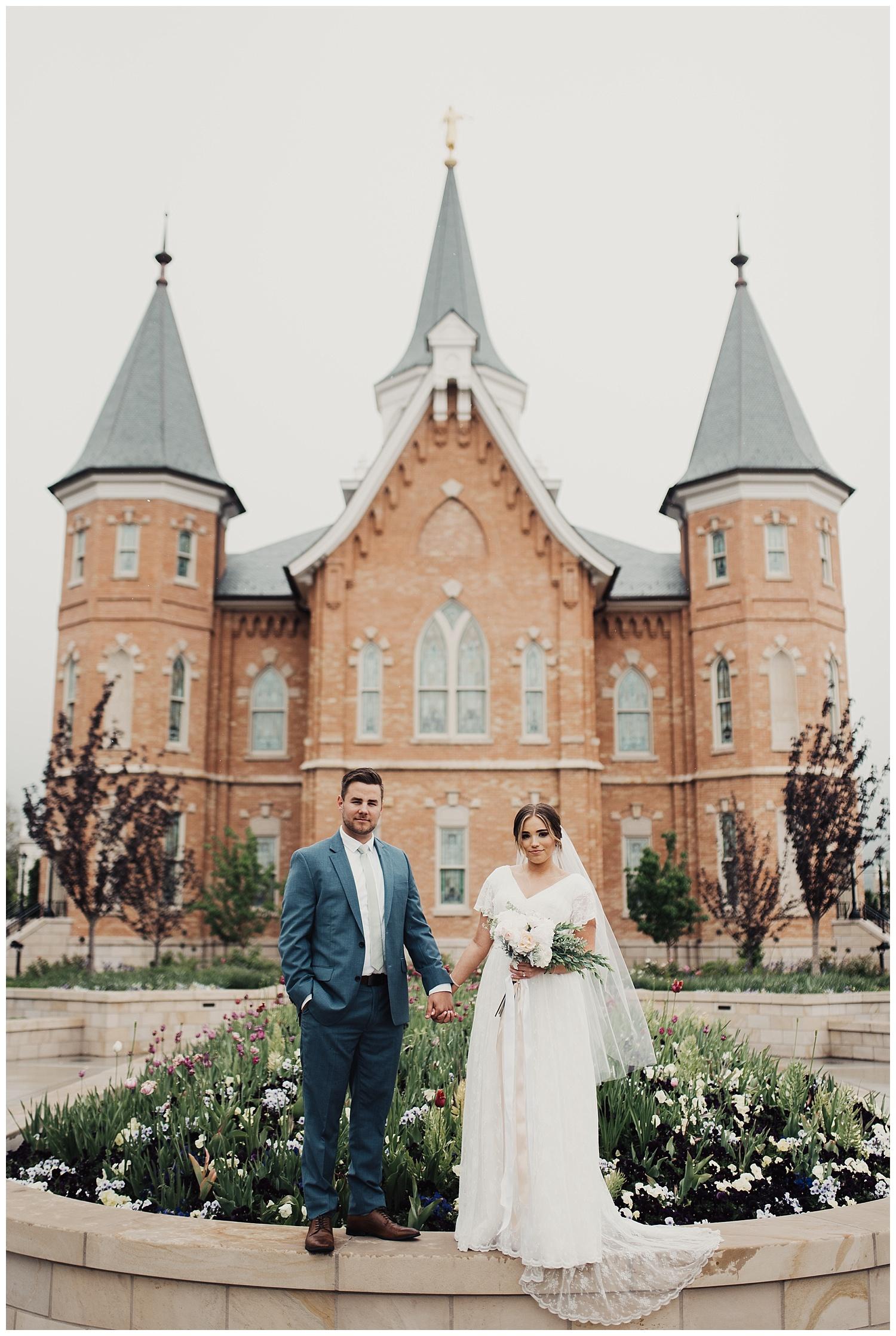 Provo City Center Temple Wedding