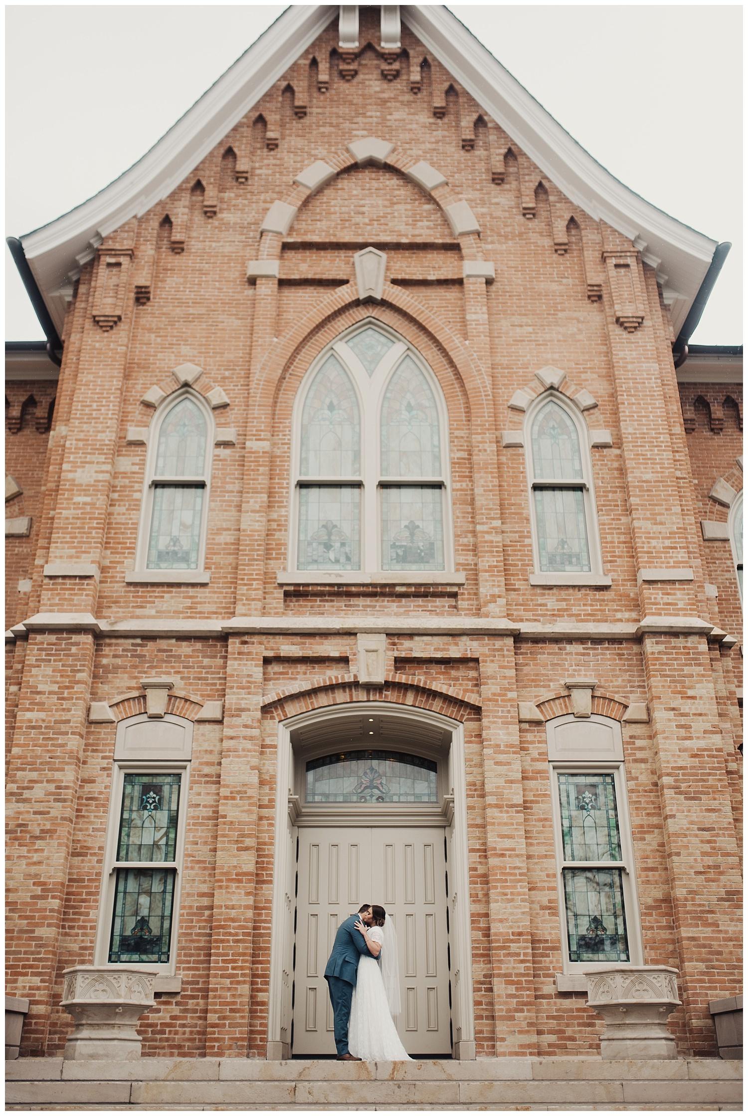 Spring Wedding at Provo City Center Temple