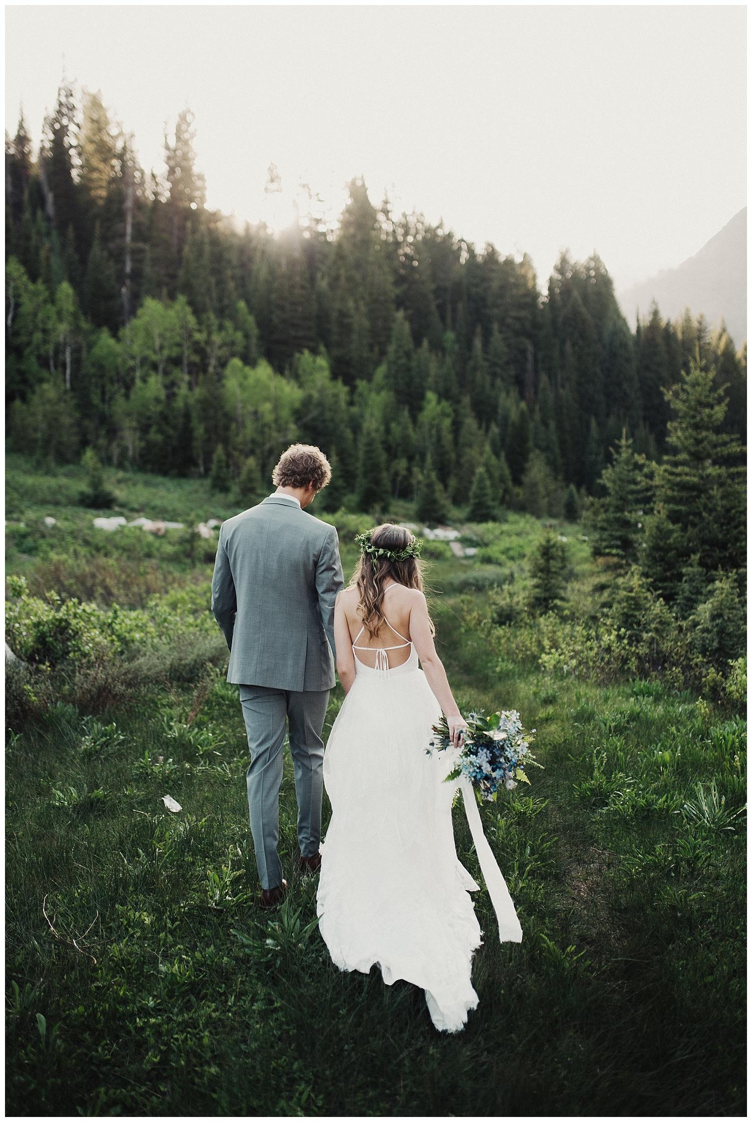 Jordan Pines Bridals in Big Cottonwood Canyon