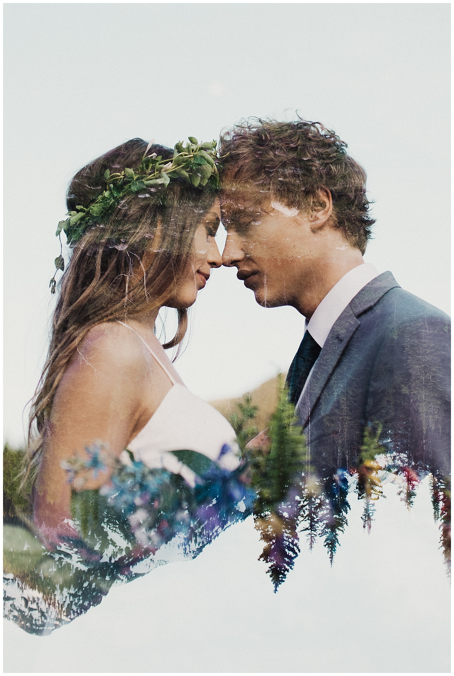 Boho Bridals Double Exposure