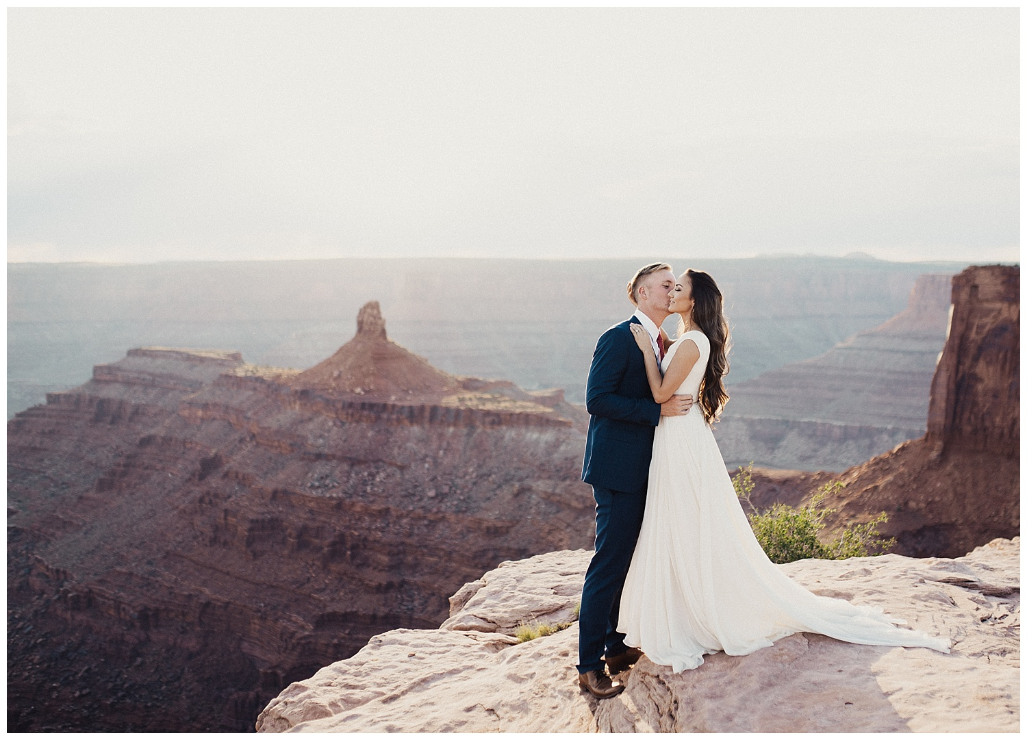 red rock bridals at dead horse point moab