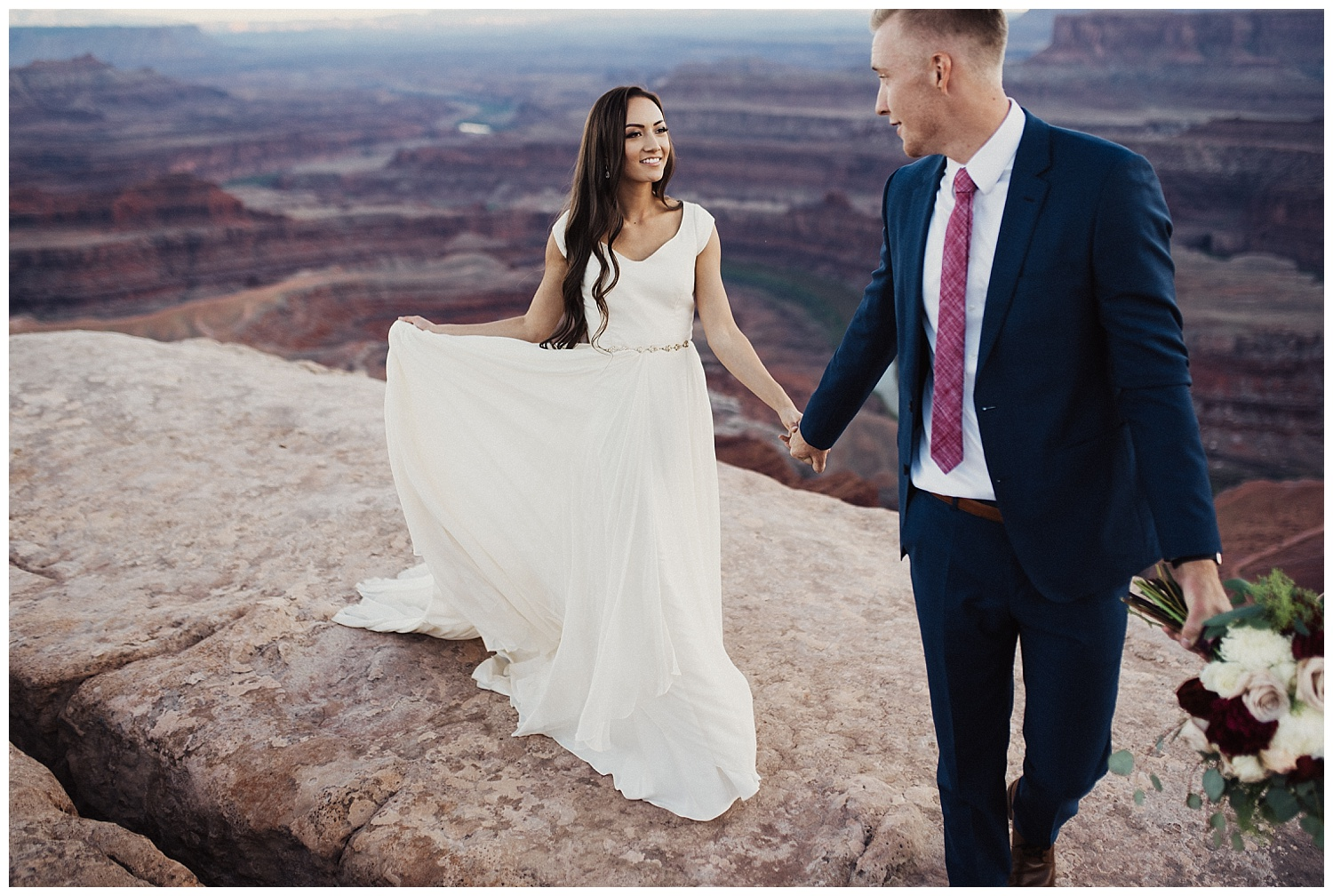 red rock bridals at dead horse point